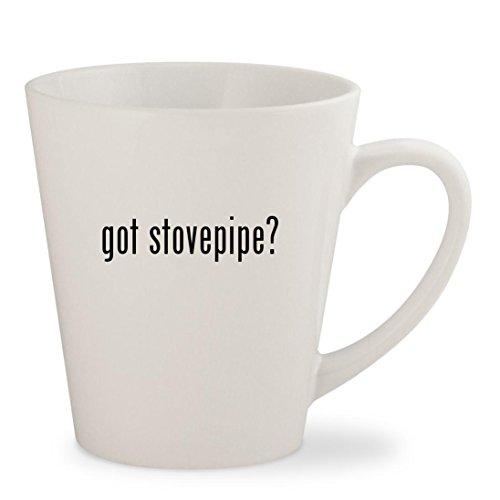 got stovepipe - White 12oz Ceramic Latte Mug Cup