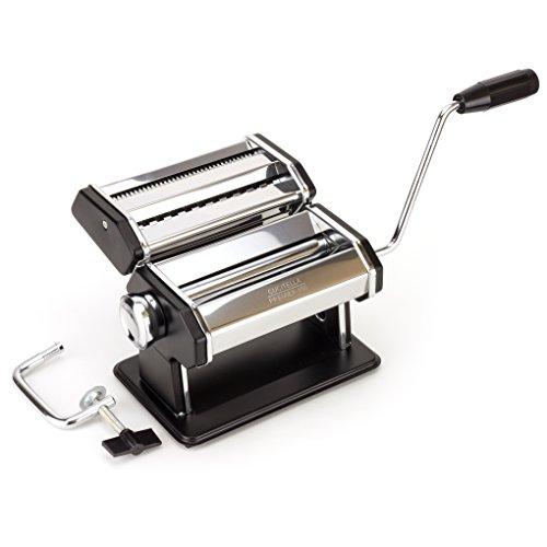 Premium Pasta Maker - Now Easily Make Delicious Spaghetti & Fettucine From Scratch | Durable P-150 Model, Food-grade