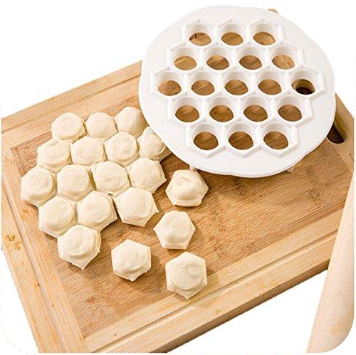 Mumsprefer Original 19 Hole Ravioli Maker/ Mold - Makes Large Quantity Of Pasta, Pelmeni, Dumplings - Durable