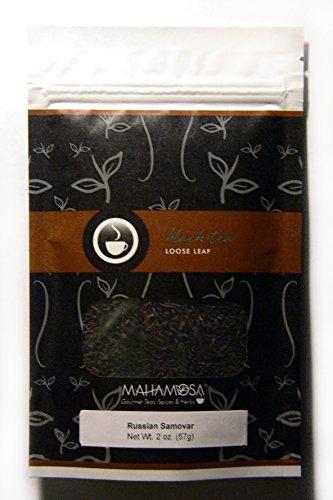 Mahamosa Classic Black Tea Blend Loose Leaf Looseleaf - Russian Samovar 2 oz