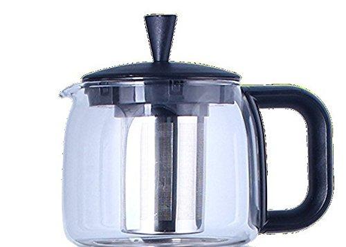 Replacement Teapot for GOLDA INC 25 Liters Glass Samovar Tea Maker Black