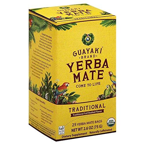 Guayaki Yerba Mate Organic Tea 25-Count 26oz