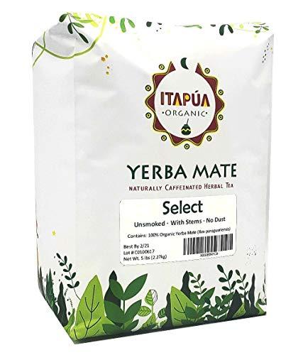 Itapua Select 100 Organic Yerba Mate 5 lbs 227 kg