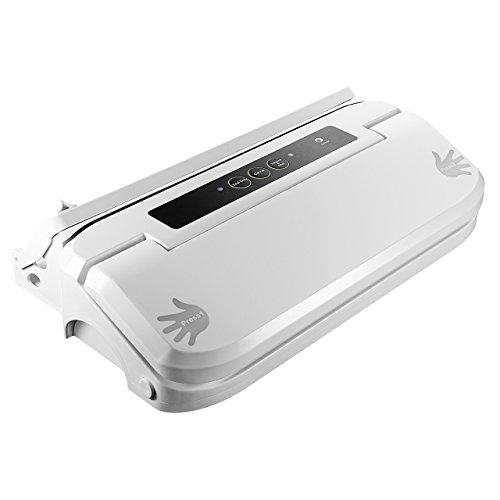 Pictek Vacuum Sealer Food Vacuum Saver Sealing Machine Premium Auto Food Vacuum Seal System with Detachable Drip Drain Cap White