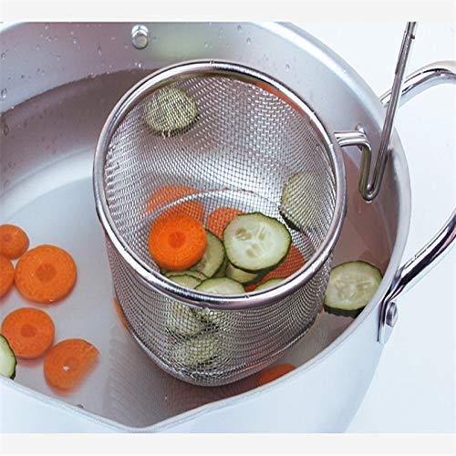 BIRD WORKS Strainer Colander Scoop 304 Stainless Steel Drain Oil Spicy Hot Pot Juice Residue sift Noodle Soybean Milk Filter Kitchen Sieve