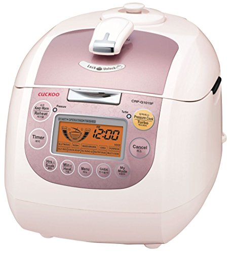 Cuckoo CRP-G1015F Electric Heating Pressure Rice Cooker 10 cups Pink