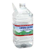 6 Pack - Crystal Geyser Natural Alpine Spring Water 1-Gallon Jugs
