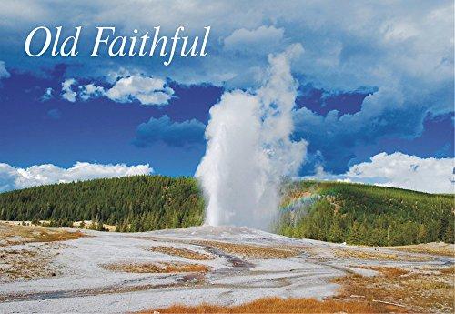 Old Faithful Geyser Yellowstone National Park Wyoming WY Souvenir Magnet 2 x 3 inch Fridge Magnet