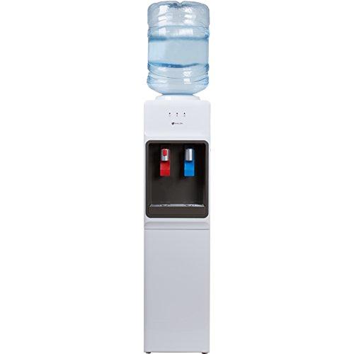 Avalon Top Loading Water Cooler Dispenser - Hot Cold Water Child Safety Lock Innovative Slim Design Holds 3 or 5 Gallon Bottles - ULEnergy Star Approved