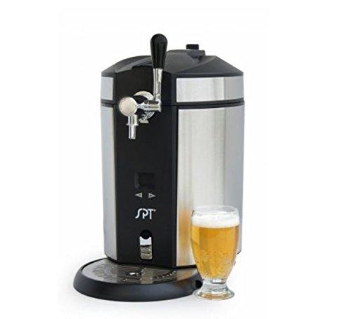 SPT BD-0538 Mini Kegerator Dispenser Stainless Steel