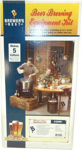 Brewers Best BEK-1000 Beer Home Brewing Equipment Kit