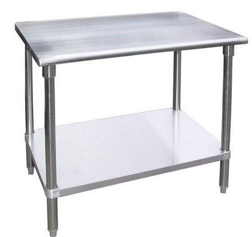 NSF Work Table Food Prep Worktable Restaurant Supply Stainless Steel 18 X 30