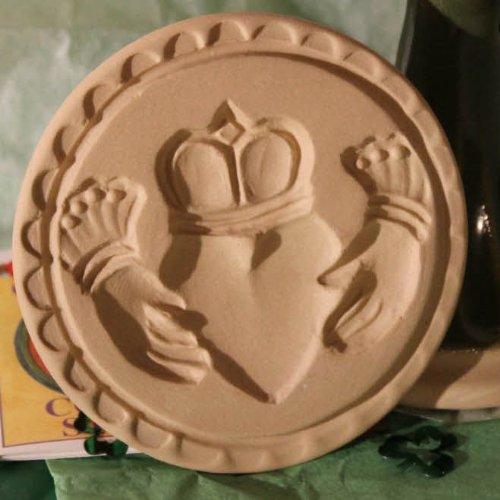 Brown Bag Clauddaugh Cookie Stamp - British Isle Series