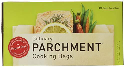 PaperChef 05003 PC5003 2 Pack Parchment Paper Nonstick Cooking Bags 10-ctBox 1483 Tan