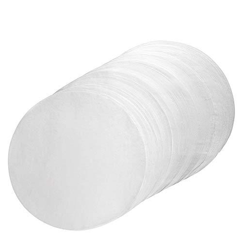 WERSEA Parchment Paper Rounds 10 Inch Diameter - 100pcs Non-Stick 10 Cake Pan Liner Circles Precut for Cake Baking in Cheesecake Pan Springform Pan and Tart Pan