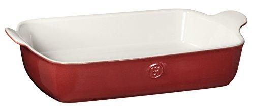 Emile Henry Made In France HR Modern Classics Large Rectangular Baker 13 x 9 Red
