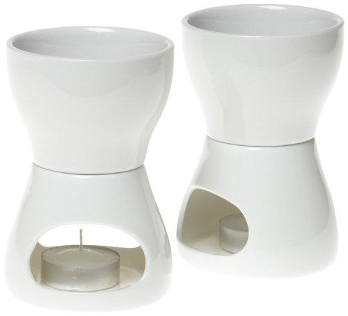 Norpro 213 Porcelain Butter Warmer 2pc set