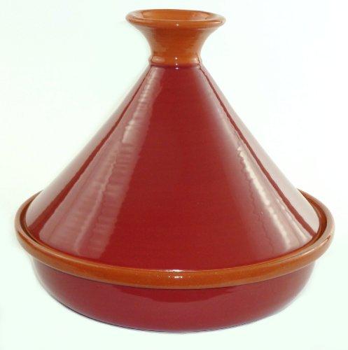 Le Souk Ceramique Cookable Tagine Burgundy