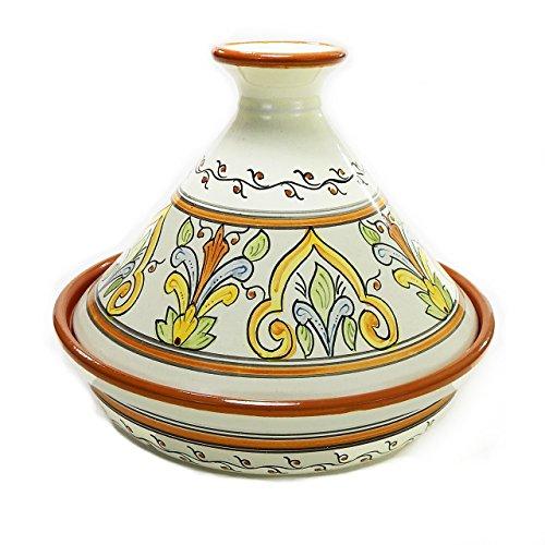 Le Souk Ceramique SL20CT Cookable Tagine 12 Inch Salvena