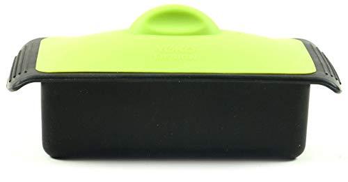 YOKO Design 1101 Terrine  Press Silicone Green 19 x 10 x 6 cm