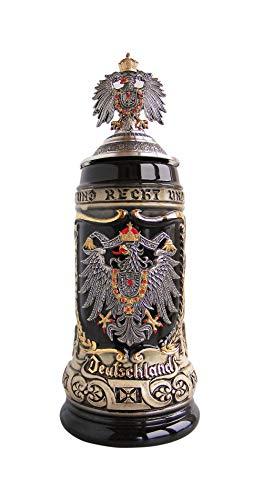 Zöller Born German Beer Stein German with state coat of Arms Stein 05 liter tankard beer mug ZO 14259009