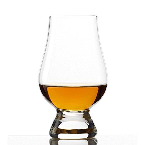 Fine Crystal Whiskey Glass 4-Pack Premium Finest Scotch Bourbon Taster Snifter