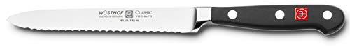 Wusthof Classic 4110 Serrated Utility Knife 5 Inch