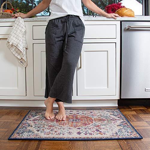 GelPro Ergo System Designer Washable Kitchen Rug  Comfort Mat For Home 24x34 Taryn Wild Berry