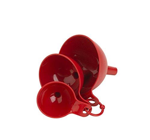 Good Cook 3-Piece Plastic Funnel Set