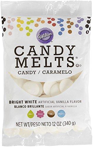 Wilton Candy Melts Flavored 12oz Bright White Vanilla