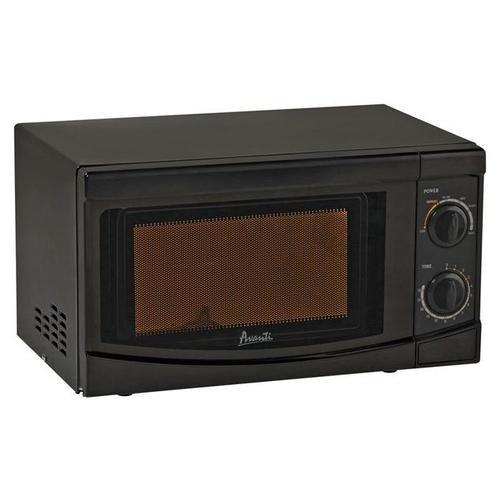Avanti Avanti Mo7082mb Rotary Dial 700-watt Microwave, 0.7 Cubic Feet, Black
