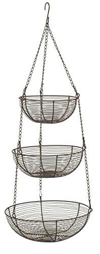 Bronze Wire Hanging Baskets BZ 309