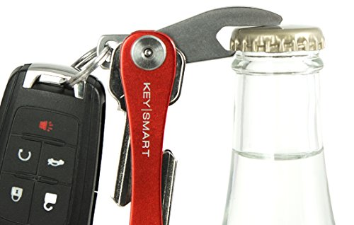 KeySmart Compact Key Holder Add-on Accessory - Stainless Steel Bottle Opener