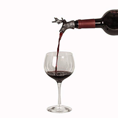 Stainless Steel Wine Aerator Liquor Pourer Deer