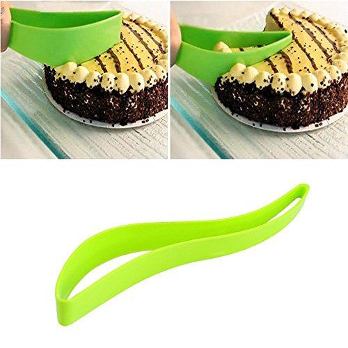 LOHOMETM Home Kitchen Cake Pie Slicer Sheet Guide Cutter Server Bread Slice Knife Kitchen Gadget 2 pcs