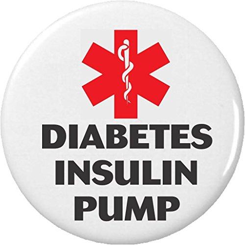 Medical Alert DIABETES INSULIN PUMP 225 Bottle Opener w Keyring Diabetic Health Symbol Sign
