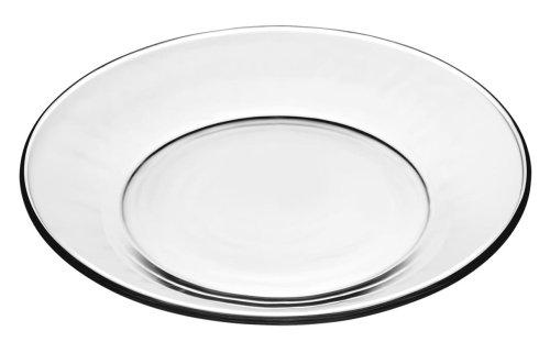 Libbey Moderno 7 12 inch Glass SaladDessert Plate Box of 12