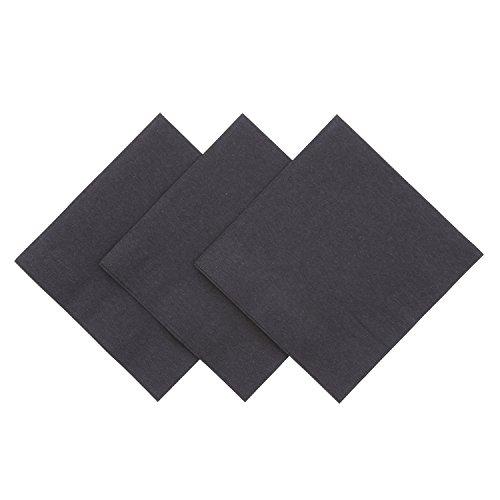 Royal Black Beverage Napkin Package of 1000