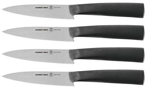 Hudson Home Schmidt Brothers Cutlery SCASK04 6 Carbon 4pc steak set