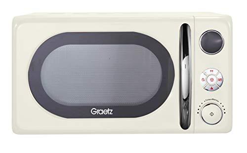 Graetz MW-452 Digital Microwave 20L - Creme