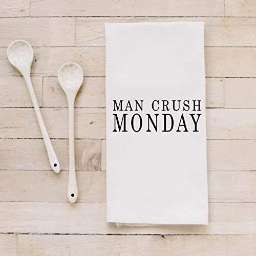 Bar Towel Man Crush Monday present housewarming mens towel kitchen decor mens gift flour sack dish cloth