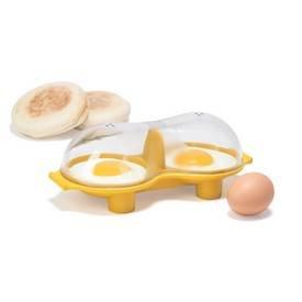 Trudeau Microwave Double Egg Poacher
