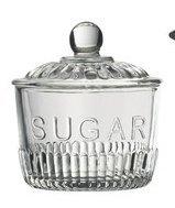 Glass Sugar Bowl