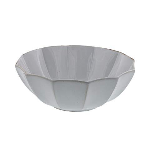 Zen Table Japan Rinka 78 Handmade Ceramic Salad Bowl Made in Japan - Off-White
