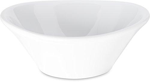 Carlisle 5300602 Stadia Coupe Melamine Soup Bowl 12 oz White