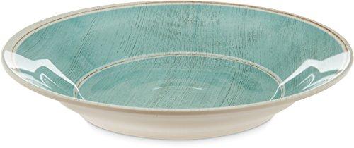 Carlisle 6400315 Grove Melamine Soup Bowl Aqua Pack of 6
