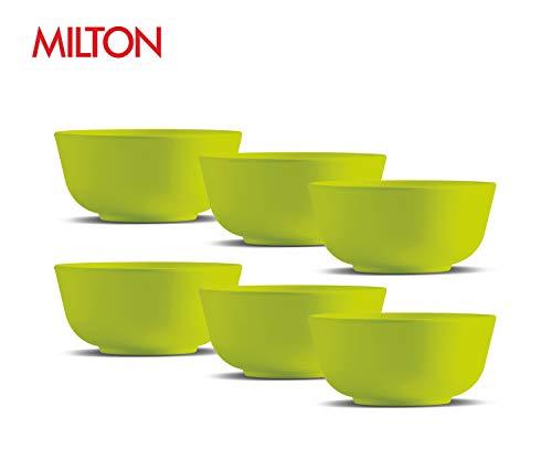 Milton Melamine SoupCereal Small Bowl Set of 6 Green