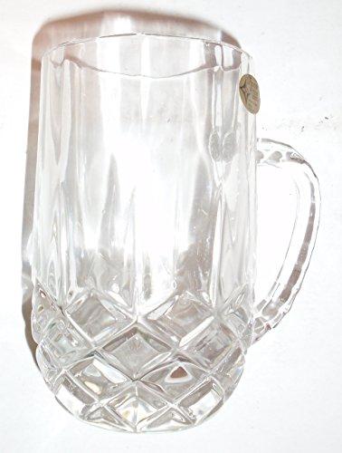 16 Ounce Genuine 24 Lead Crystal Mug Made in Yugoslavia