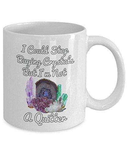 Funny Healing Crystal Mug Healers Gift Coffee Cup