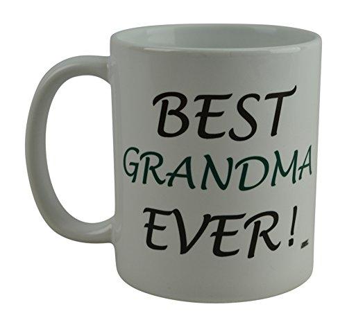 Rogue River Funny Coffee Mug Best Grandma Ever Novelty Cup Great Gift Idea For Grandmother Grandma Nana